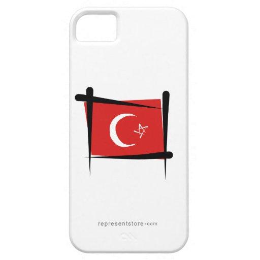 Turkey Brush Flag iPhone 5 Cases