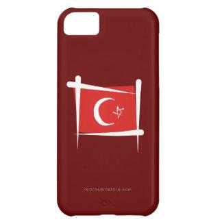 Turkey Brush Flag iPhone 5C Cases