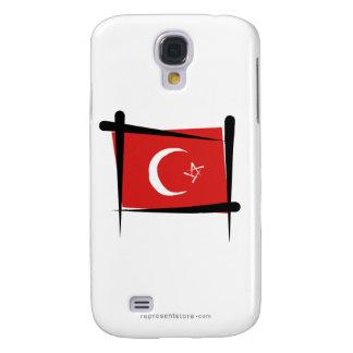 Turkey Brush Flag HTC Vivid / Raider 4G Case