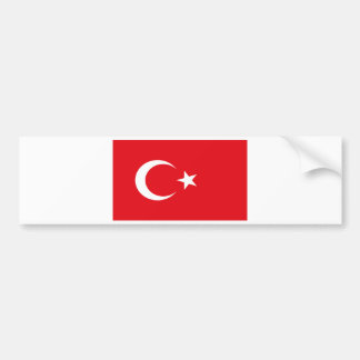 TURKEY BUMPER STICKER