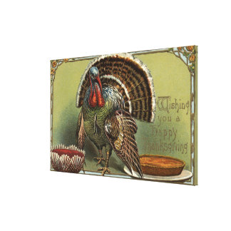 Turkey by Punch and Pie Canvas Print