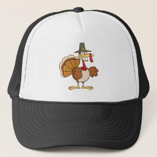 Turkey Cartoon Character Trucker Hat