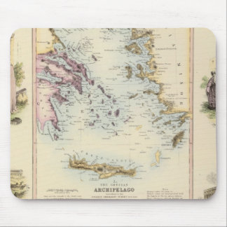 Turkey Central Mediterranean Regions Mouse Pad