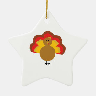 Turkey Christmas Ornament