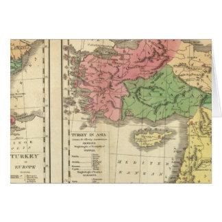 Turkey Chronological Map Card