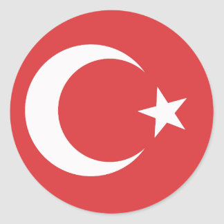 turkey classic round sticker