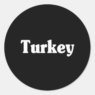 Turkey Classic Style Sticker