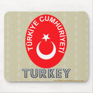 Turkey Coat of Arms Mouse Pad