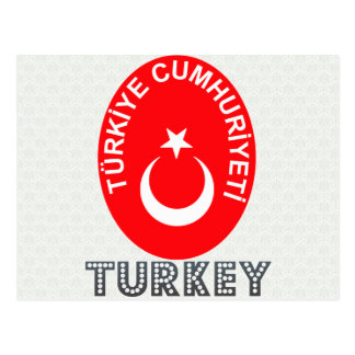 Turkey Coat of Arms Postcard