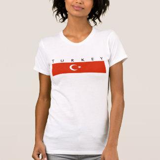 turkey country flag nation symbol T-Shirt