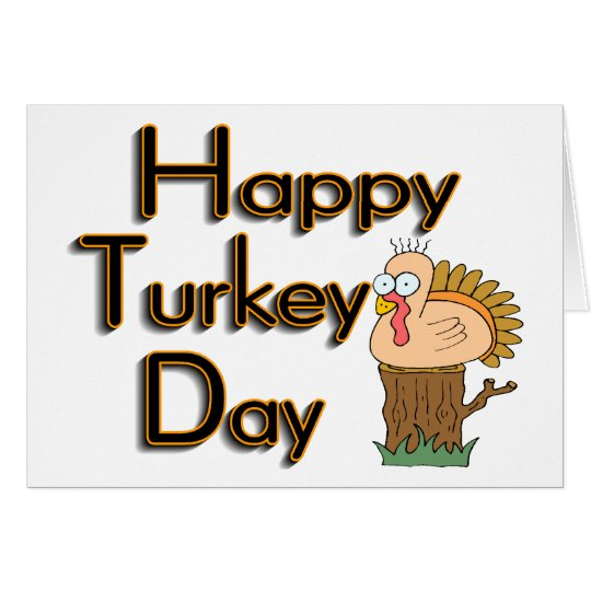 Turkey Day Card
