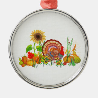 Turkey Day Christmas Ornament