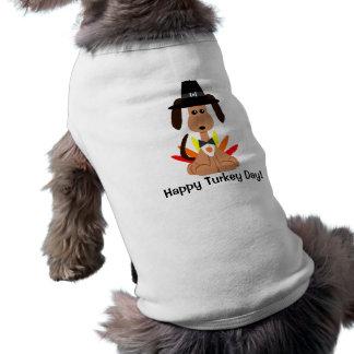 Turkey Day Dog Shirt