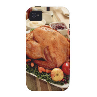 Turkey Dinner Meal Case-Mate iPhone 4 Cover