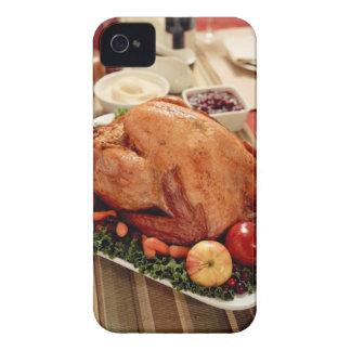 Turkey Dinner Meal iPhone 4 Case
