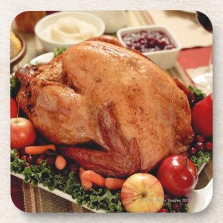 Turkey Dinner Meal Coaster