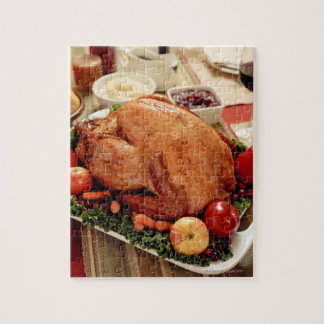 Turkey Dinner Meal Jigsaw Puzzle