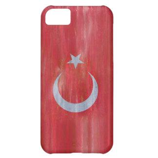 Turkey distressed Turkish flag iPhone 5C Case