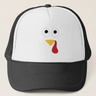 Turkey Face Trucker Hat