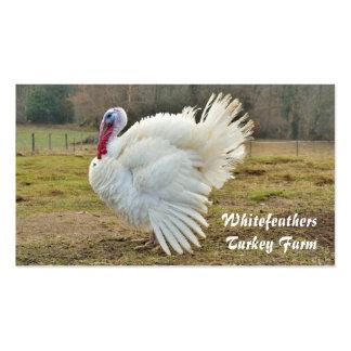 Turkey farm business card