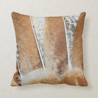 Turkey Feather Fanned Design Cushion