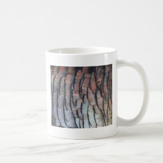 Turkey Feathers Coffee Mug