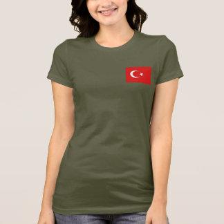 Turkey Flag and Map dk T-Shirt