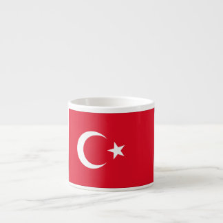 Turkey Flag Espresso Cup