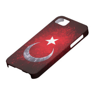 Turkey Flag Firework Barely There iPhone 5 Case