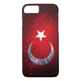 Turkey Flag Firework iPhone 7 Case