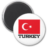 Turkey Flag Fridge Magnets