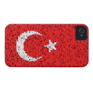 Turkey flag glitter iphone 4 barely case