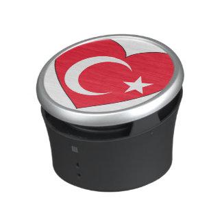 Turkey Flag Heart Bluetooth Speaker