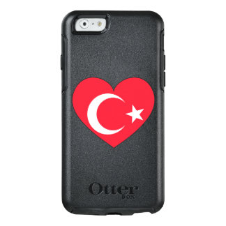 Turkey Flag Heart OtterBox iPhone 6/6s Case