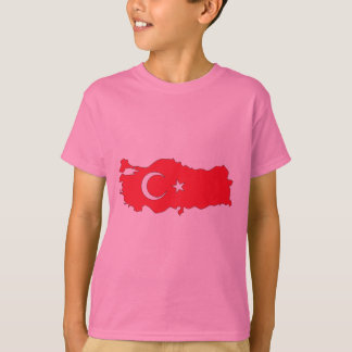 Turkey flag map T-Shirt