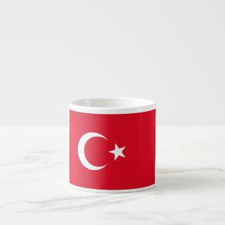 Turkey Flag Espresso Mug