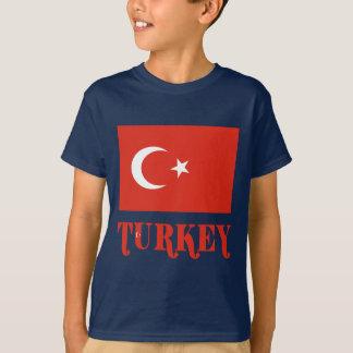 Turkey Flag & Name T-Shirt