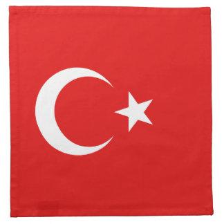 Turkey Flag Napkin