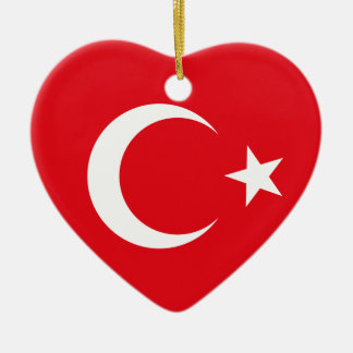 Turkey Flag Ornament