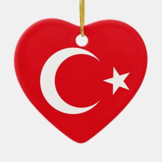 Turkey Flag Ornament