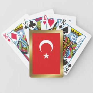 Turkey Flag Playing Cards