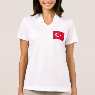 Turkey Flag Polo Shirt