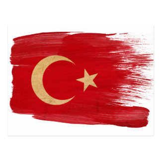 Turkey Flag Postcards