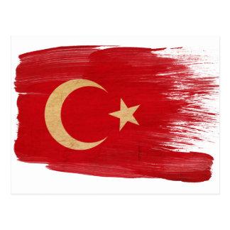 Turkey Flag Postcards