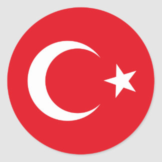 Turkey Flag Sticker