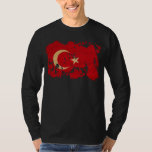 Turkey Flag T Shirt