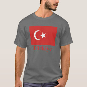 Turkey Flag with Name in Turkish T-Shirt