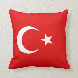 Turkey Flag x Flag Pillow
