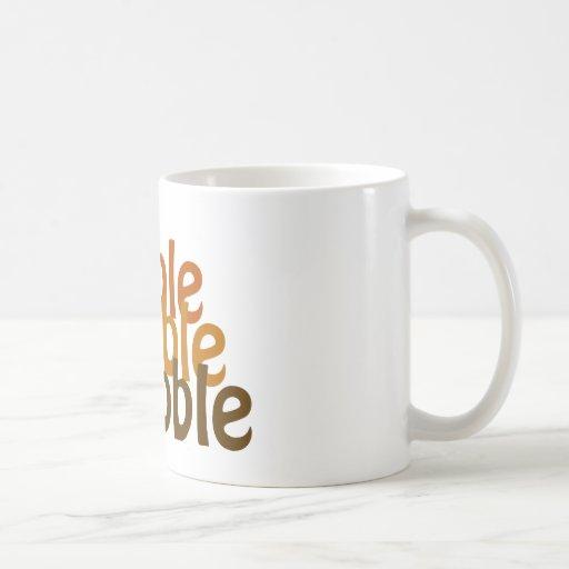 Turkey Gobble Coffee Mugs