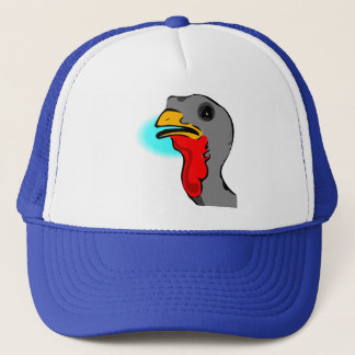 Turkey Head Trucker Hat